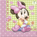 Baby Minnie Mouse serviettes