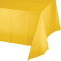 Yellow Plastic Tablecloth 1