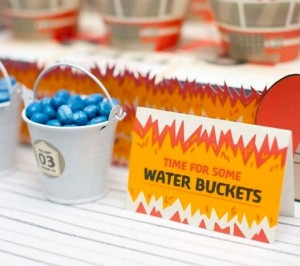 blue jelly bean buckets