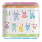 Baby Clothes Plate