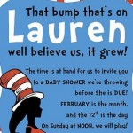dr seuss invite