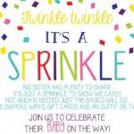 sprinkle invite