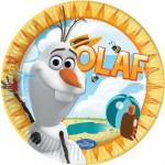 Olaf Summertime Plates