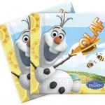 Olaf Summertime serviettes