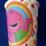 Barney Dots cups