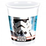 Star Wars plastic cups